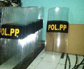 Ready tameng fiber bening satpol PP
