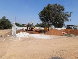 Gated Community Open plots for sale at Attapur-