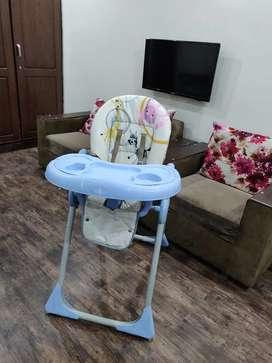 Good condition high Chair with adjustments