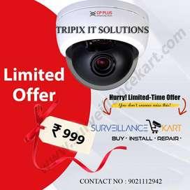 CCTV CPPLUS @999/- best price guarranty