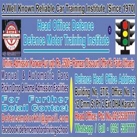 Defence Motor Training Driving School Since1970, 0,3.2'1;5,3.8;7'7.7,7