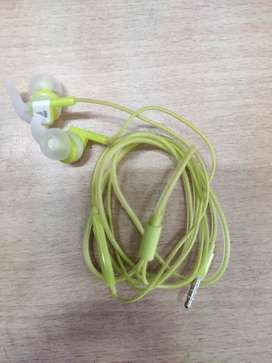 boAt Bassheads 242 in Ear Earphones brand new condition (Spirit Lime)