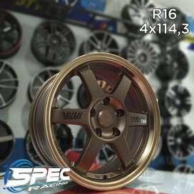 Jual Velg Mobil Te37 PCD 5x114,3 R16 Di Toko Velg Dan Ban Mobil Medan