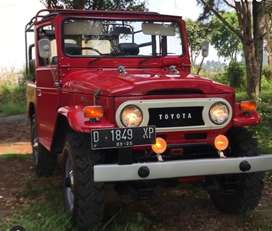 Dijual santai Land Cruiser Hardtop FJ40 Kanvas 1970 (Collector item)