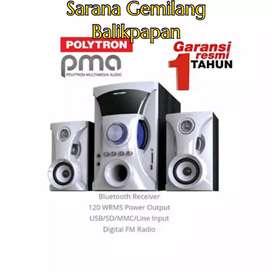 Polytron Multimedia Audio PMA-9505 Bluetooth Speaker Aktif