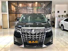 toyota alphard g atpm 2.5 2018 hitam alpet autocar
