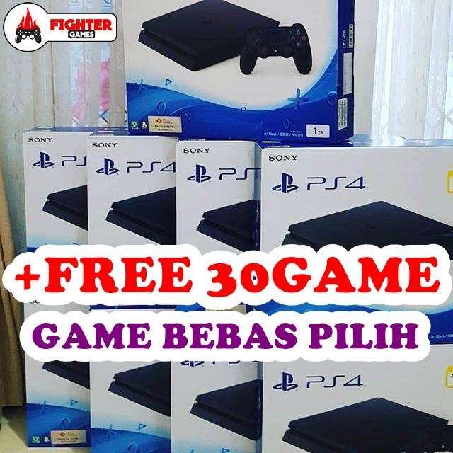 [NEW] Sony Playstation 4 PS4 SLIM HARDISK +30GAME 0