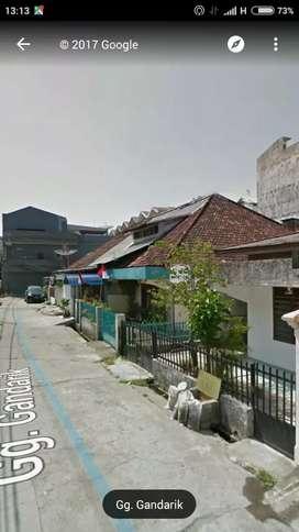 JUAL CEPAT tanah + rumah lama sertifikat palembang kota