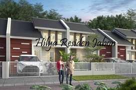 Hilya Residen, Rumah Siap Huni,  punya Halaman belakang Luas