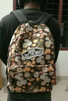 Vans bag available good condition not used