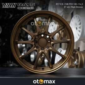 Velg Mobil Rays CE28 Ring 17 Matt Bronze