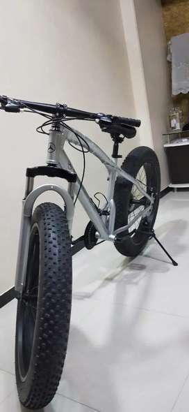 Fat Tyre Mountain Cycle