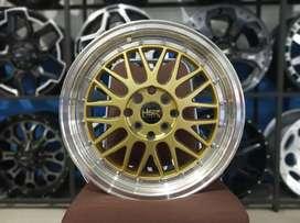 Lemans Ring 16x7 H8(100/114, 3) Gold Polish Bisa Home Kredit