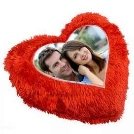 Gift to your love Cushion with your  Photo