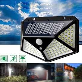 Lampu taman tenaga Surya 100 LED