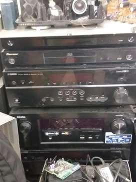 Repairing centre avr mixer sound DJ DVD LCD panel rent projector scree