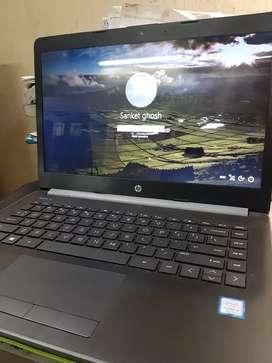 HP laptop 7th generation Intel processor (2.3 GHz)