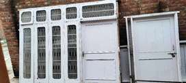 Whole house doors windows with grill and glasses locks