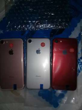 IPhone 7 128gb rosgold silver red  INR 19000