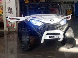Battery operated cars and bikes are available contact