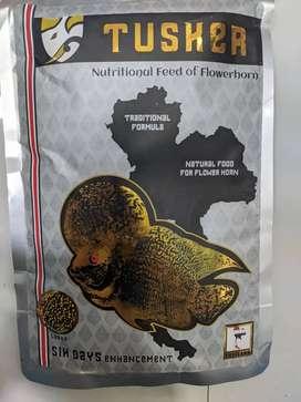 Fish food (Tusker flowerhorn, Tusker betta, Amber food)