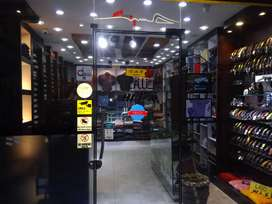 Required garments store sales counter female