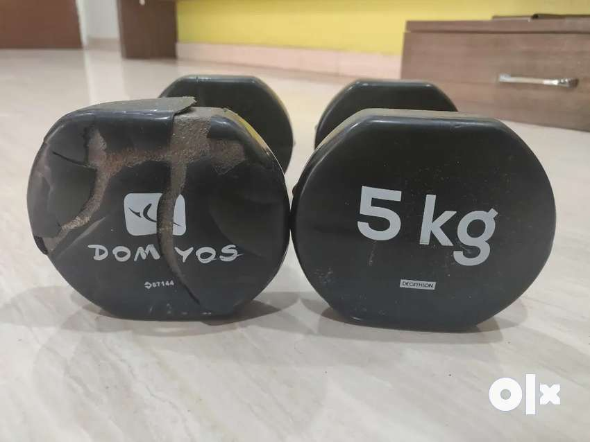 Decathlon Dumbbells (5 Kg)