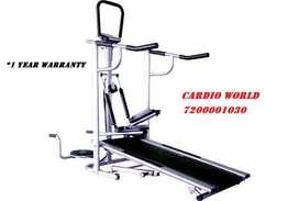 4 in1 multi use Treadmill for sale in India
