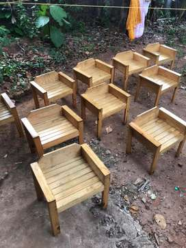10 chears 4 table for sale making wood
