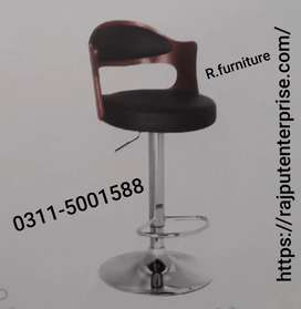 Wooden back bar chair _ office tables sofa and chair r also available