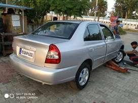 Accent car sale disel silver colour pb08 no