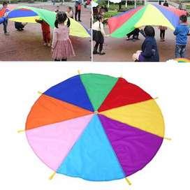 Rainbow payung parasut 8 warna