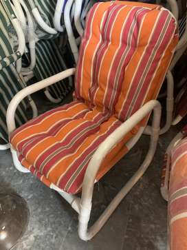 Lawn chairs and Tables
