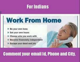 Work from home jobs, urgent requirment for 10 data entry/online exprts