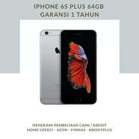IPHONE 6S PLUS 64GB - GARANSI 1 TAHUN - CASH/KREDIT