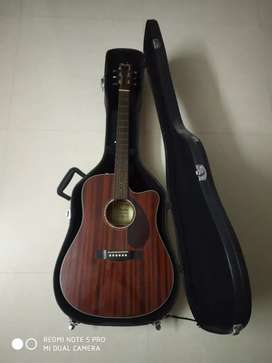 Fender 140SCE-Electro acoustic-Mahogany Guitar with Case