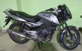 Bajaj pulsar sports bike 150cc for gray clour