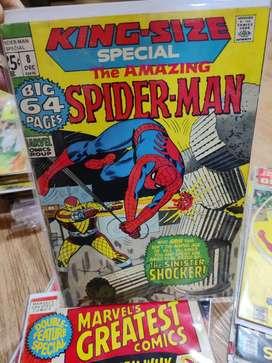 Dc marvel spideman Daredevil captain America comic books vintage