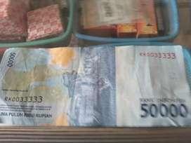 Uang nomor cantik