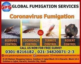 Termite control with warranty