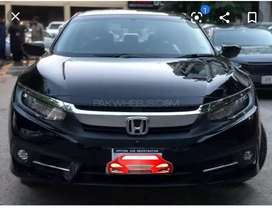 Hazir Delivery Honda Civic UG Full Option Bank Leased