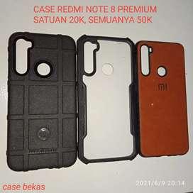 Case Casing Redmi Note 8 Bekas Pakai Masih bagus Case Premium