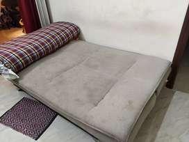 Sofa cum bed(price negotiable)what's app this ph no