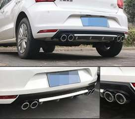 Volkswagen Polo rear bumper Diffuser made in Taiwan