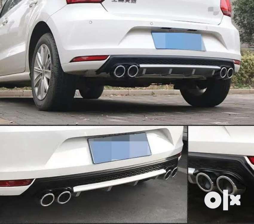 Volkswagen Polo rear bumper Diffuser made in Taiwan