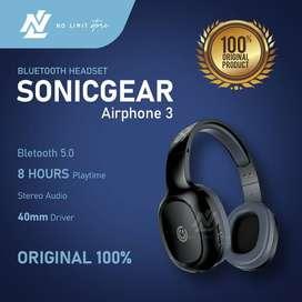 Sonicgear AirPhone 3 Wireless Headset Bluetooth
