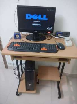 Intel P3, DELL Desktop with 120 GB Hard disk, 3 GB RAM,
