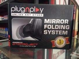 Mirror folding/auto flip spion jazz RS + pasang gan