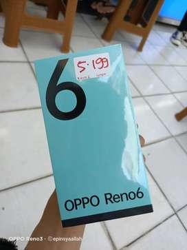 OPPO Reno6 ram 8+5GB / 128GB SEGEL