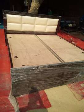 Duable bed available with stores